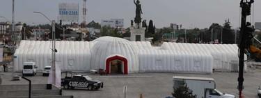 Este hospital inflable medirá 1,800 metros cuadrados, servirá para combatir el coronavirus y no está en China, sino en México
