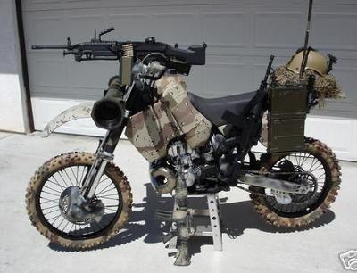 La moto militar