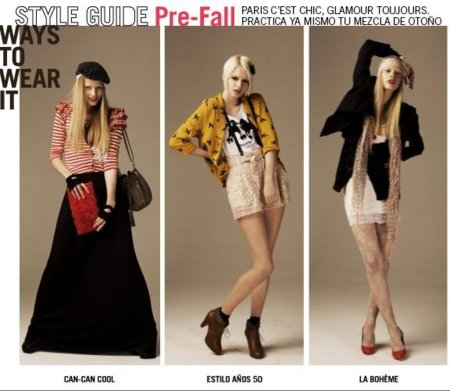 H&M Prefall 2010: viva el estilo chic parisino