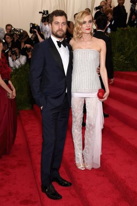 Los pantalones de la Gala Met los lleva Diane Kruger... con un look de Chanel