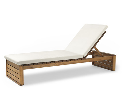 Kjaer Bk14 Sunbed Cushion Side Up