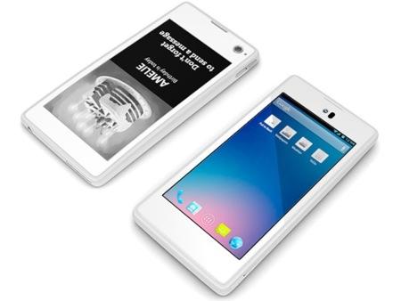 YotaPhone, pantalla LCD y de tinta electrónica en un único terminal
