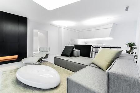 Puertas abiertas: un loft moderno y minimalista en Eslovaquia