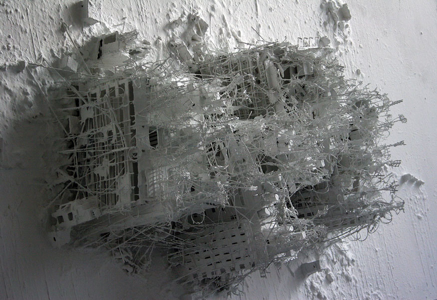 Foto de Cuadros 3D de ciudades post apocalípticas (11/14)