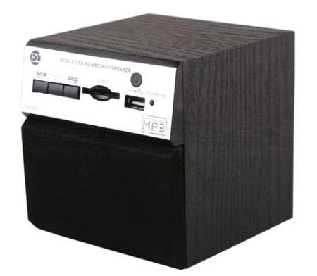 Retro Wooden USB, altavoz y sin cables