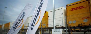Los repartidores de Amazon están colocando smartphones en árboles para recibir más pedidos