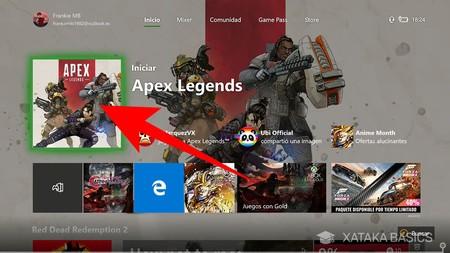Iniciar Xbox