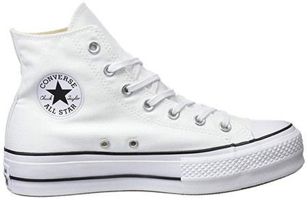 Converse Ctas Lift Hi Black White Zapatillas Altas Unisex Adulto