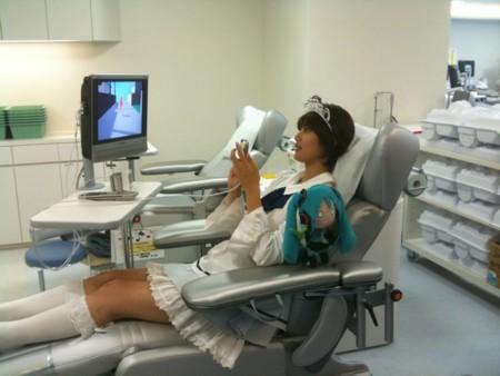 Tecnología y donar sangre: Japón vuelve a ganar.