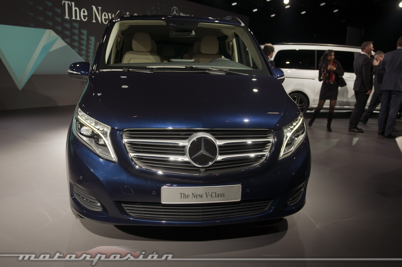 Foto de Mercedes-Benz Clase V (presentación) (15/40)