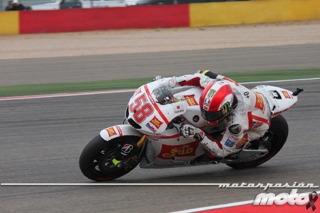 Marco Simoncelli Motorland 2011