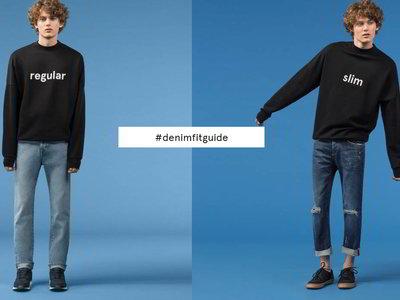 Cambia de look y adopta un nuevo corte (de jeans) con la #DenimFitGuide de Pull&Bear