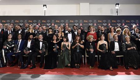 Premiados En Los Goya 2018 La Mujer En El Mundo Del Cine