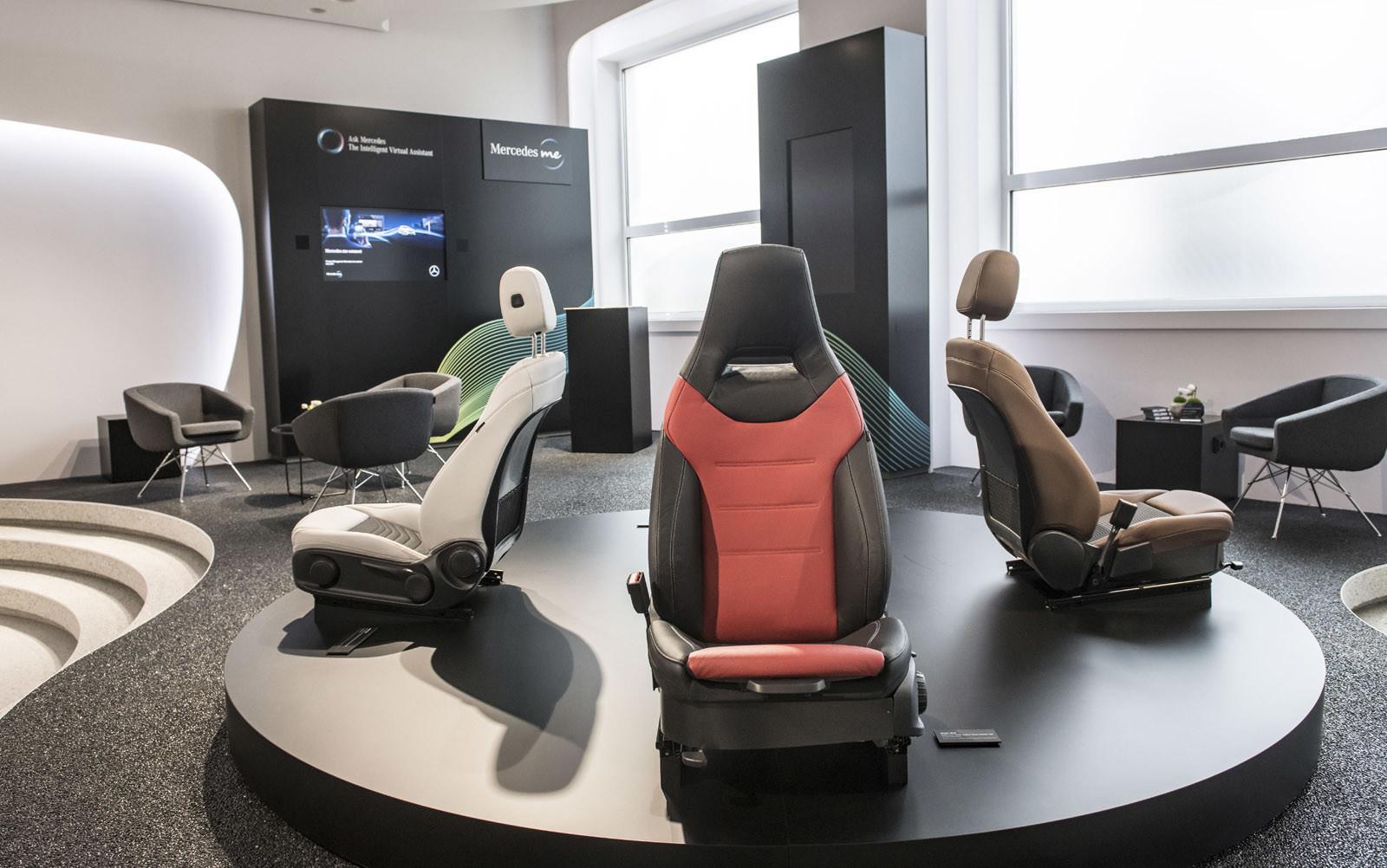 Foto de Mercedes-Benz Clase A 2018: impresiones del interior (19/28)
