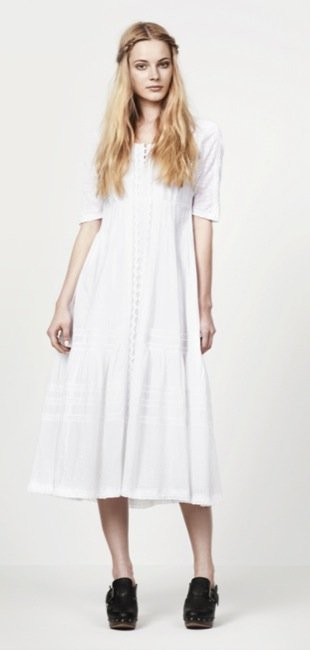 Zara, nuevo lookbook para el Verano 2010: blanco
