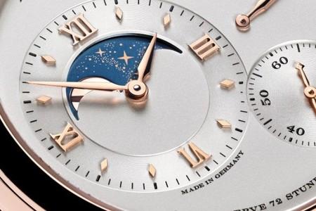Si te piden la luna en San Valentín, sorprende con el Gran Lange 1 fases de la luna de la mano de A.Lange&Söhne