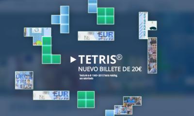 Jugando al Tetris para conocer el nuevo billete de 20 euros