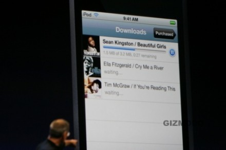 iTunes WiFi Music Store