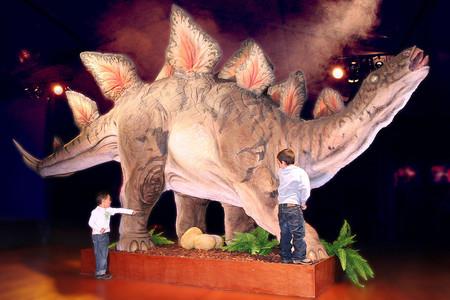 Planes con niños: Dino Expo XXL, la exposición de dinosaurios más grande de Europa