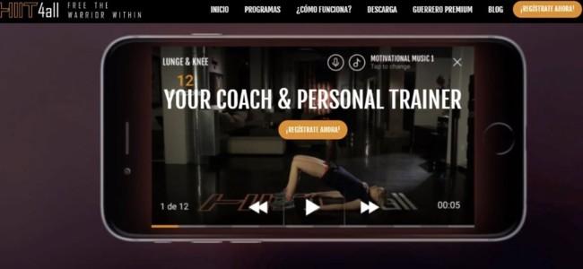 Hiit4all una nueva app de fitness por niveles