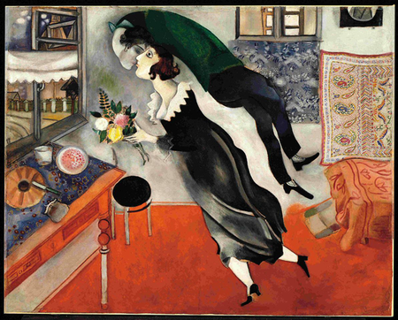 Retrospectiva de Marc Chagall en el Palazzo Reale de Milán