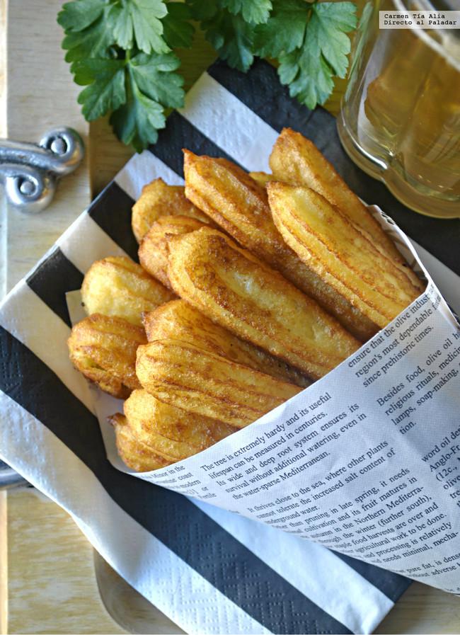 Churros De Patata Parmesano Y Mostaza