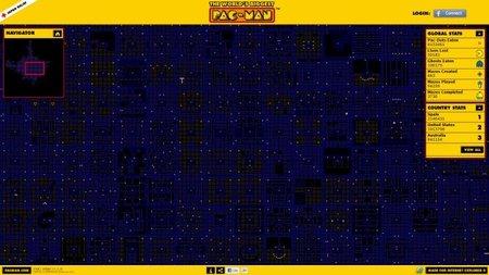 World's Biggest Pac-man. El comecocos más grande de la historia, y además es gratuito y para toda la familia