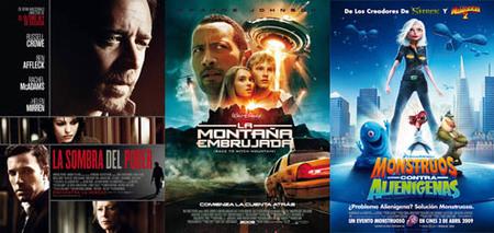 Taquilla española: Russell Crowe y la Roca se ponen en cabeza