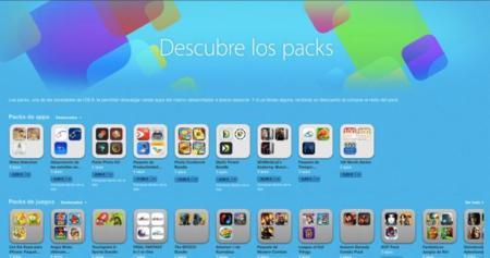 Los packs de aplicaciones comienzan a aparecer en la App Store