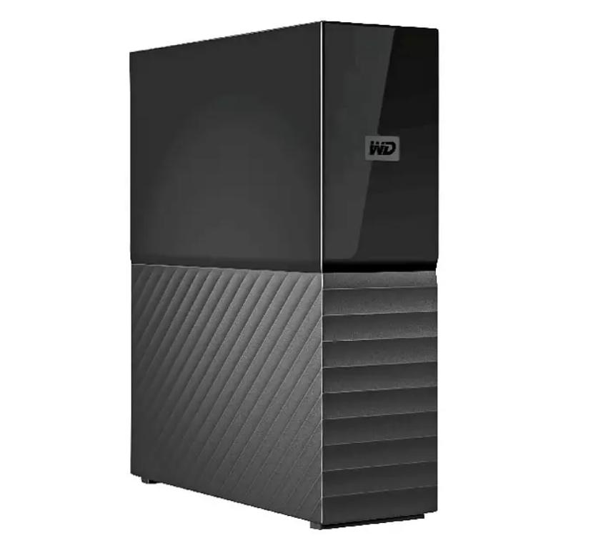 Disco duro externo 8 TB - WD My Book, Sobremesa, Compatible Mac, Protección con Contraseña, WD Backup, Negro