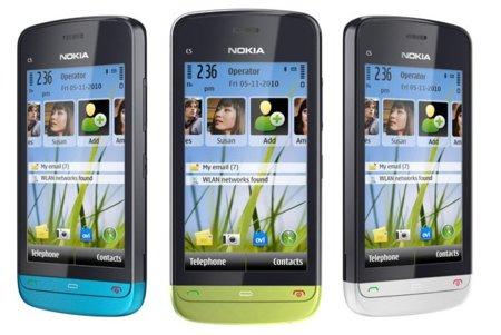 Nokia C5-03, conectividad a buen precio