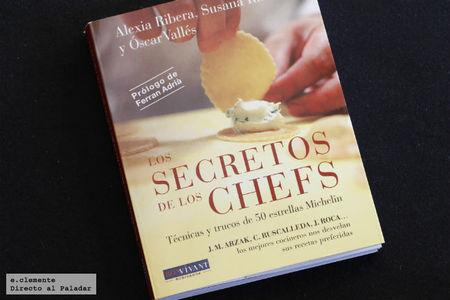Los secretos de los chefs. Libro de cocina
