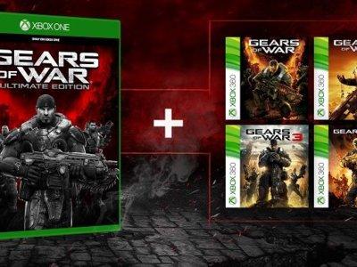 Jugar a Gears of War Ultimate Edition antes de 2016 tendrá premio: toda la saga de regalo