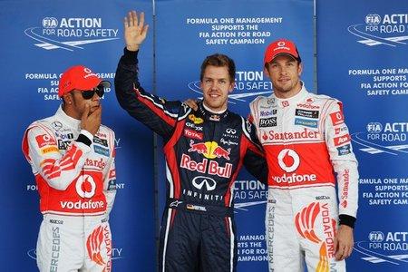 Pole para Sebastian Vettel en Suzuka. Y van 12.