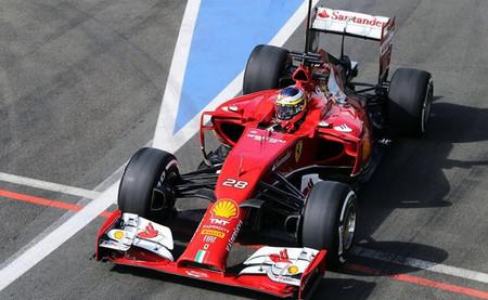 Pedro de la Rosa Ferrari 2014 Test Silverstone