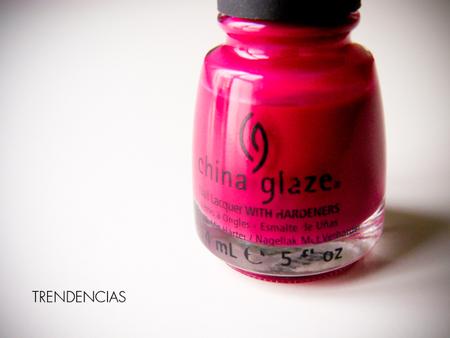 Esmalte de uñas a prueba. Tono Traffic Jam de China Glaze