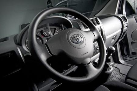 Detalle interior Nueva Toyota ProAce