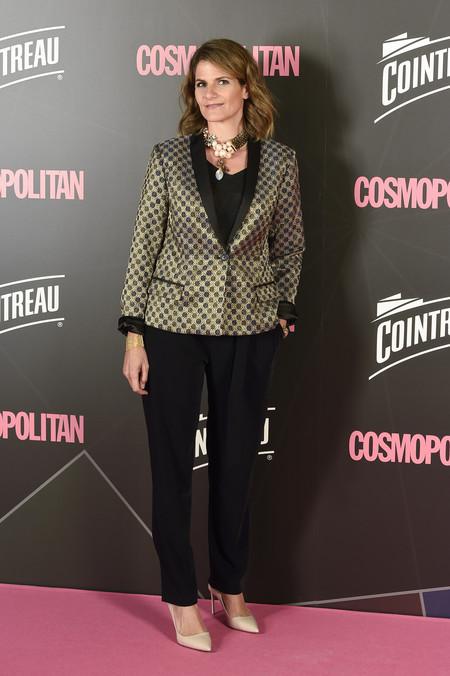 premios cosmopolitan 2017 alfombra roja look estilismo outfit fuencisla clemares
