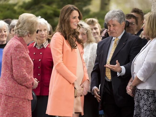 Kate Middleton Embarazo 4