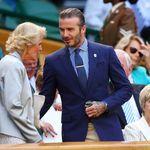 David Beckham llevó a su madre y un estilazo a Wimbledon que nos ha inspirado el look perfecto de verano