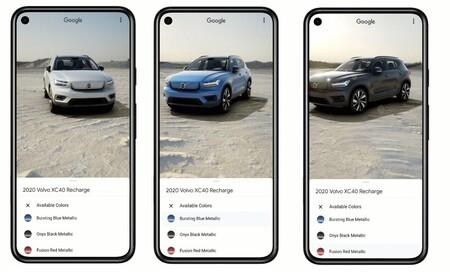 ¿El futuro de comprar un coche? Google ya permite ver 250 coches en realidad aumentada y con todo detalle