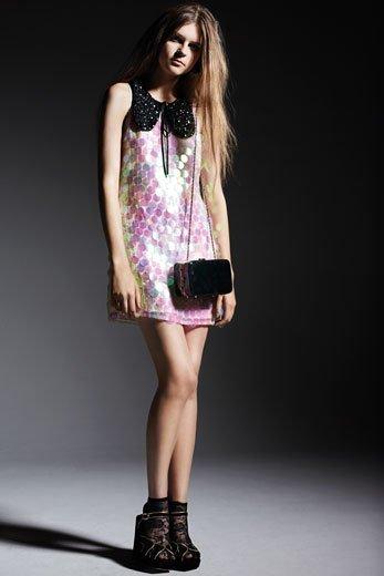 vestidos nochevieja: topshop vestido lentejuelas