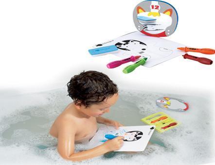 Pinturas de niños para la bañera (en compañía mucho mejor)