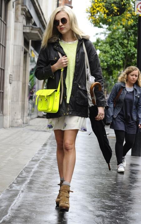 Streetstyle no tan veraniego por Fearne Cotton