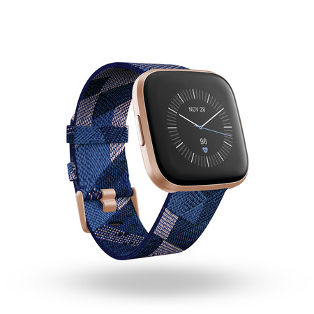 Fitbit Versa 2 3qtr Se Navy Pink Copper Rose Clock Default Shadow