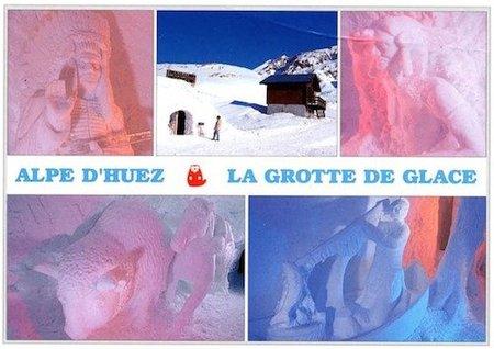Las Cuevas de hielo en los Alpes franceses