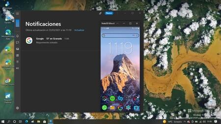 Microsoft ya está probando en la app Tu Teléfono un indicador de estado de la conexión entre el móvil y el PC