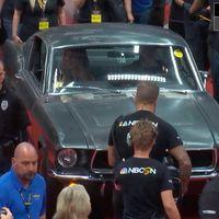 El Ford Mustang GT 1968 original de la película Bullitt se convierte en el más caro de la historia