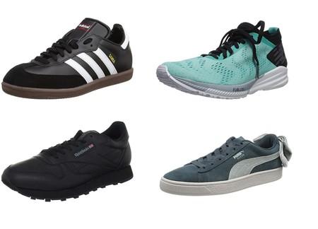 Chollos en tallas sueltas de zapatillas Reebok, Adidas, Puma y New Balance en Amazon