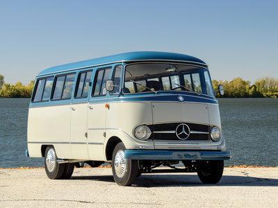 Esta furgoneta Mercedes-Benz de 1959 puede ser tuya, aunque te costará más que un SLS AMG Roadster